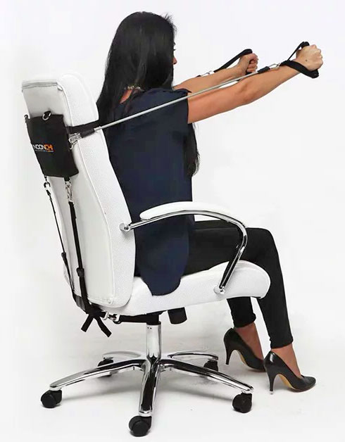 Noonchi Office Chair Workout