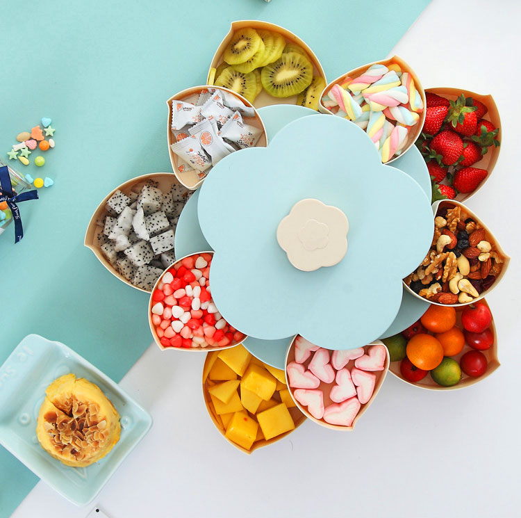 Flower Pedal Snack Holder