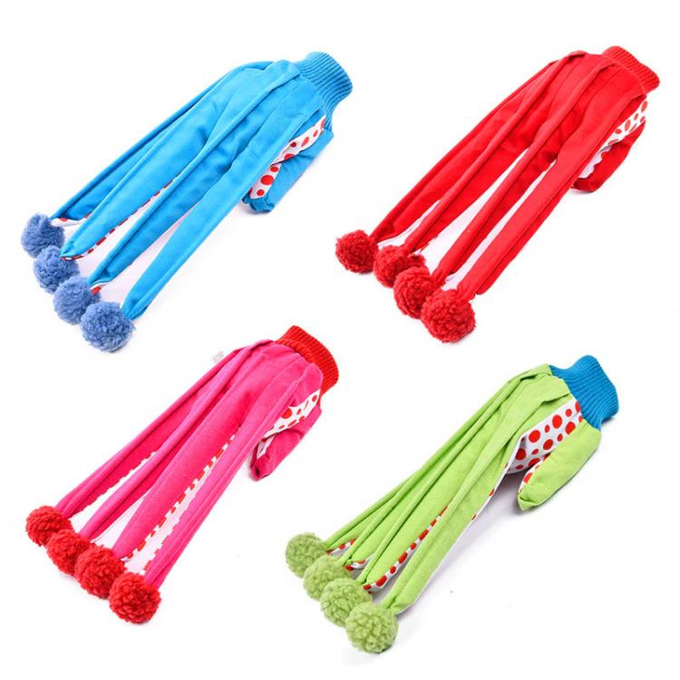 Clown Glove Extended Finger Cat Toys