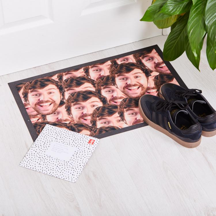 Your Face Doormat - Customized floormat with you or your enemies face