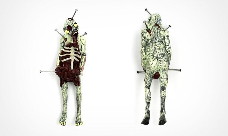 Zombie Body Bird Feeder