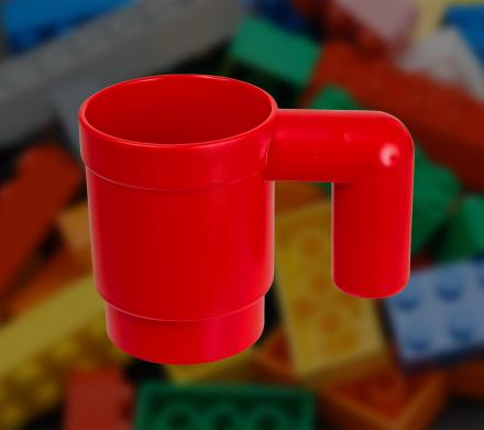 Upscaled Lego Coffee Mug