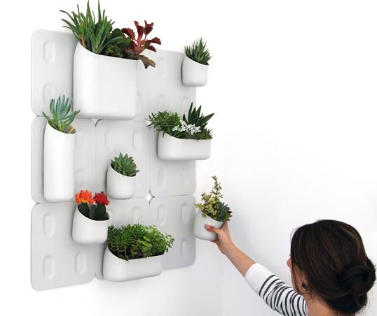 Urban wall planters for Wanddeko balkon