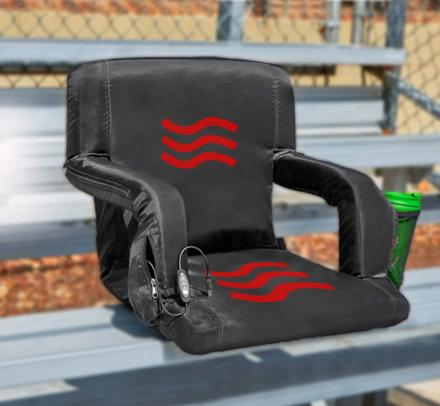 USB Heated Bleacher Seat and Cushion