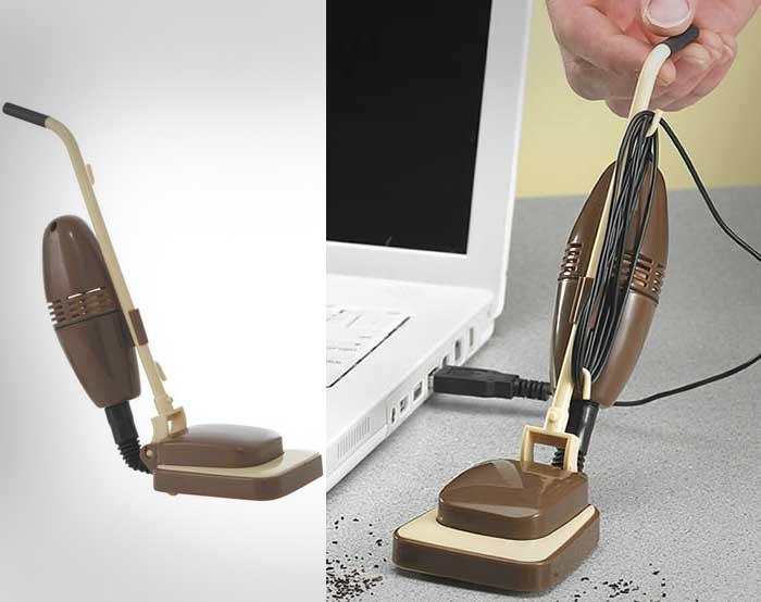 Usb Powered Mini Desk Vacuum