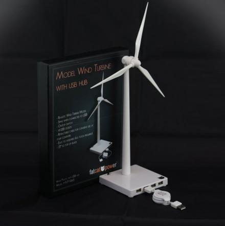 USB Powered Mini Desktop Wind Turbine