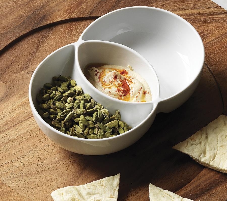 Venn Diagram Chip And Dip Bowl