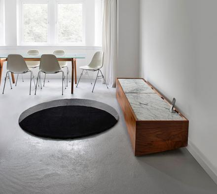 Void Rug: Creates Illusion Of Huge Hole In Your Floor