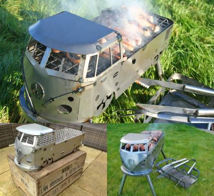 Volkswagen Hippy Bus Barbecue Grill