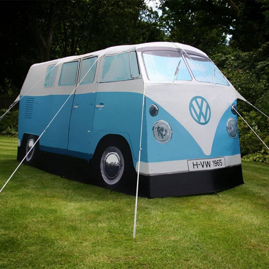 The Volkswagen Bus Tent is a c&ing tent that is an exact scale replica of an old 1967 Volkswagen hippy van. Now you wonu0027t have to leave your hippy van on ... & Volkswagen Van Camping Tent