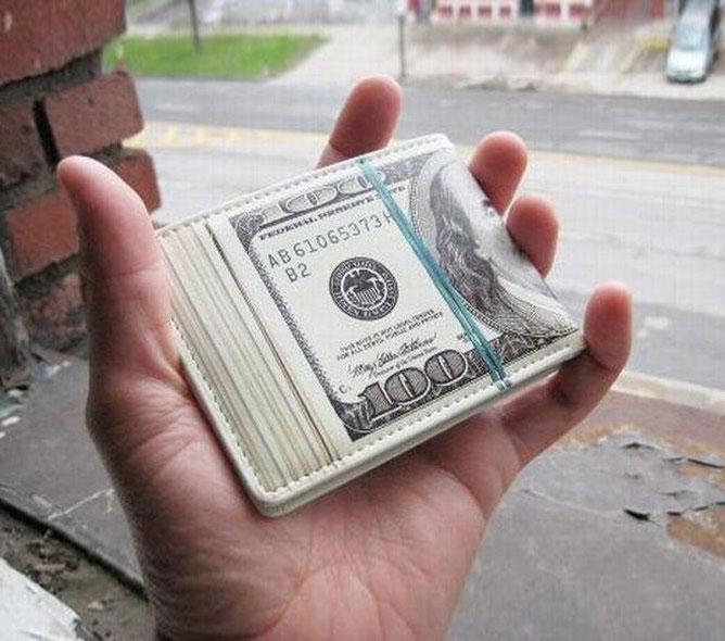 Wad Of Cash Wallet