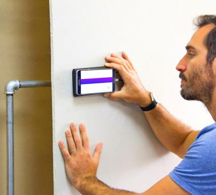 Walabot: Phone Sensor Detects Studs, Pipes, and Wires Behind Walls