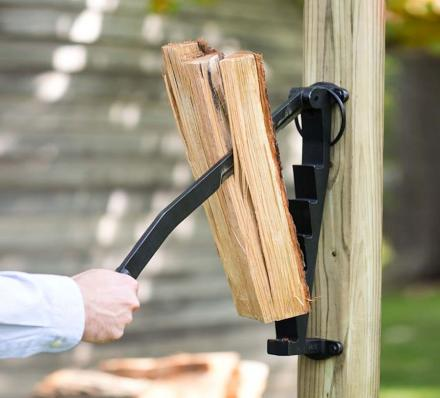 Stikkan: A Wall Mounted Log Splitter For Cutting Up Kindling