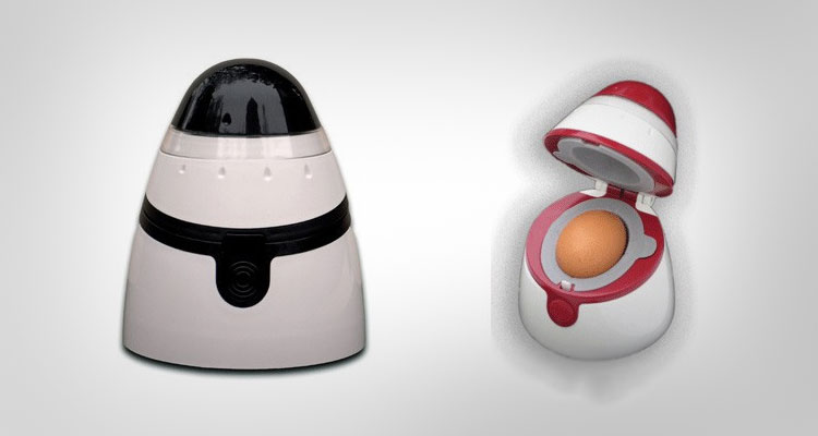 Waterless Hard Boiled Egg Toaster