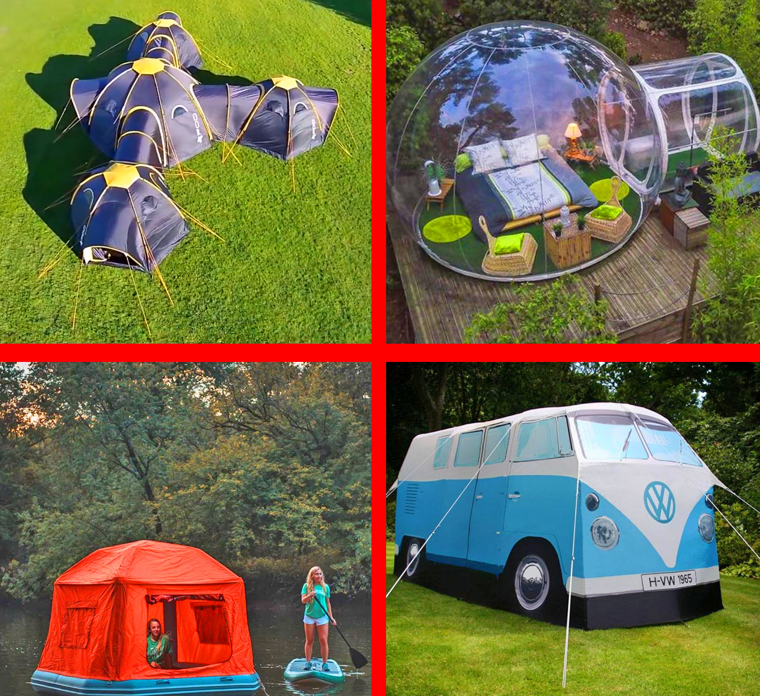 We Found The Coolest Tents For Camping In 2020