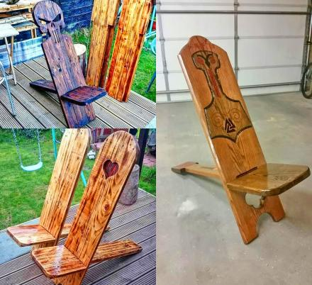 We Found The Best and Coolest Viking Chair Designs Ever