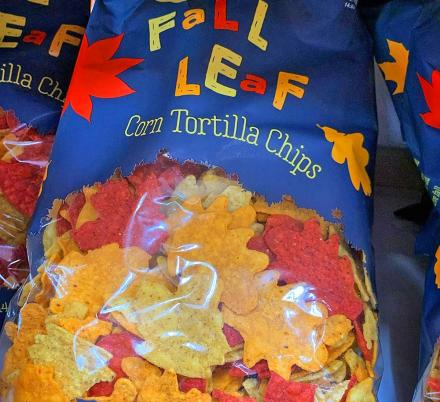 Trader Joe's Is Now Selling Tortilla Chips Shaped Like Leaves