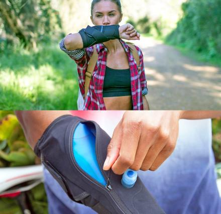 WetSleeve: A Water Bottle Bladder That Wraps Around Your Arm