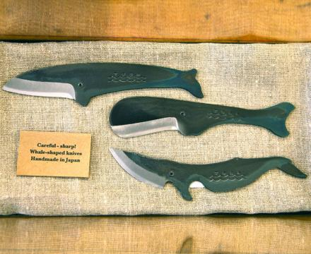 Whale Shaped Knife