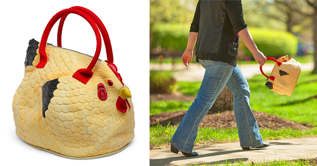 This Chicken Bag Is Absolutely Egg-cellent!