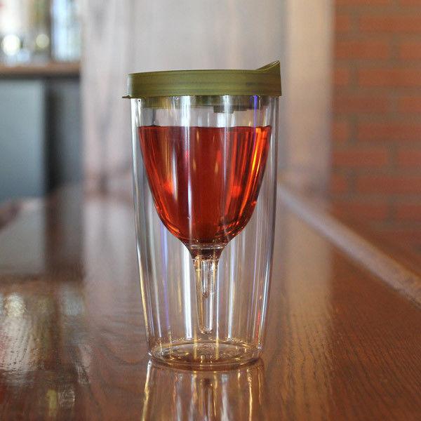 Vino2Go Wine Glass Sippy Cup For Drinking Wine On The Go