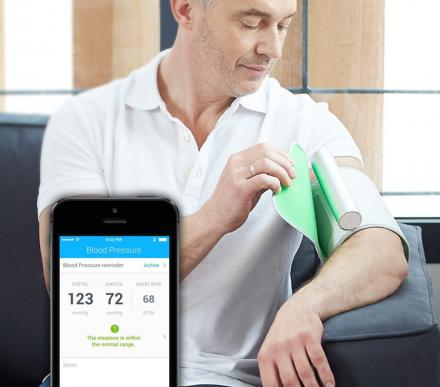 Smart Blood Pressure Monitor Syncs Wirelessly To Your Smart Phone