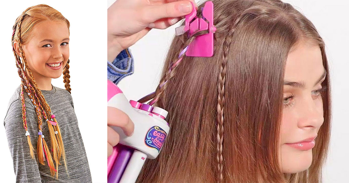 With This Playset You Can Braid Your Hair Even If You Don