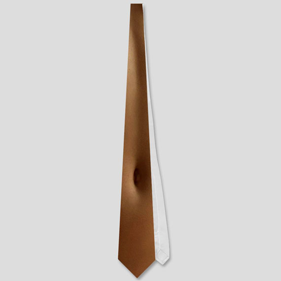 Woman Torso Neck Tie