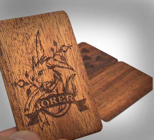 Wooden Deck Of Cards 1