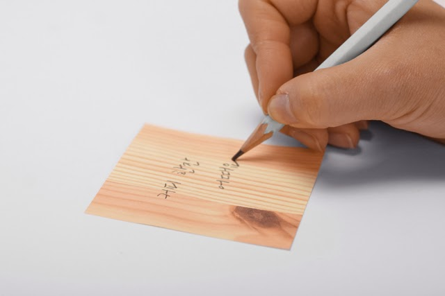Wood Block Note Pad