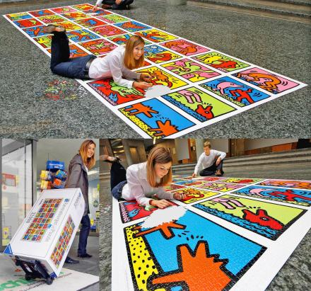 World's Largest Jigsaw Puzzle - 42,000 Piece Puzzle