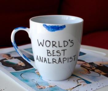 Worlds Best Analrapist Coffee Mug