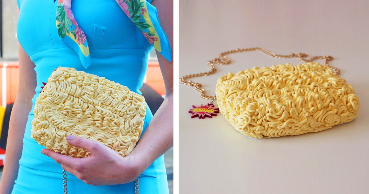Would You Carry Around A Ramen Noodle Handbag? Because Yes, It Exists