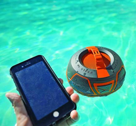 Wow-Sound Floating Speaker - Waterproof, 360 Degree Rugged Speaker