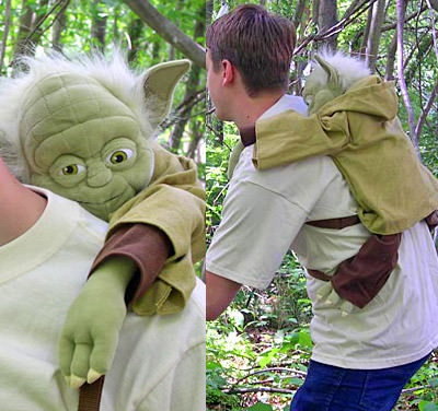 Yoda Piggy-Back Backpack