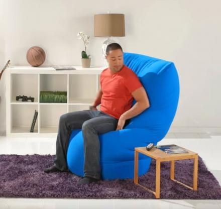 Yogibo Ultimate Bean Bag Chair That Molds To Your Body Thumb Jpg