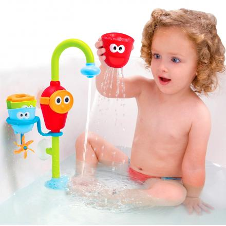 Yookidoo Baby Bath Toys Makes Bath-Time Fun