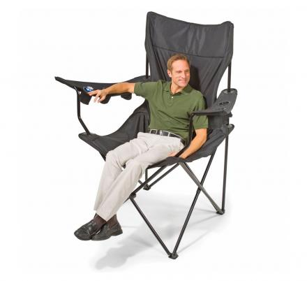 You Can Get a Giant Folding Chair That Has 6 Cup Holders