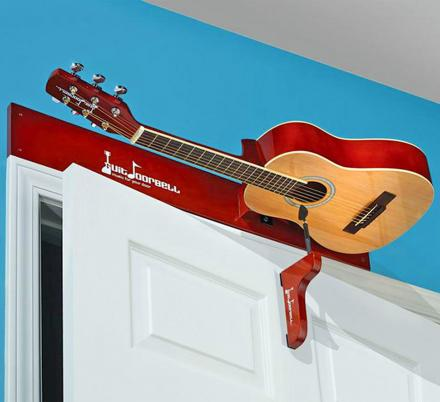 You Can Get a Guitar Doorbell That Strums An Actual Guitar Each Time The Door Is Opened