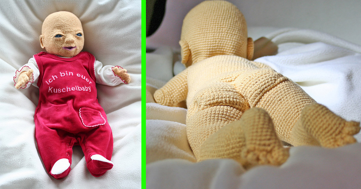You Can Now Crochet Your Own Baby Doll With Oddly Realistic Features