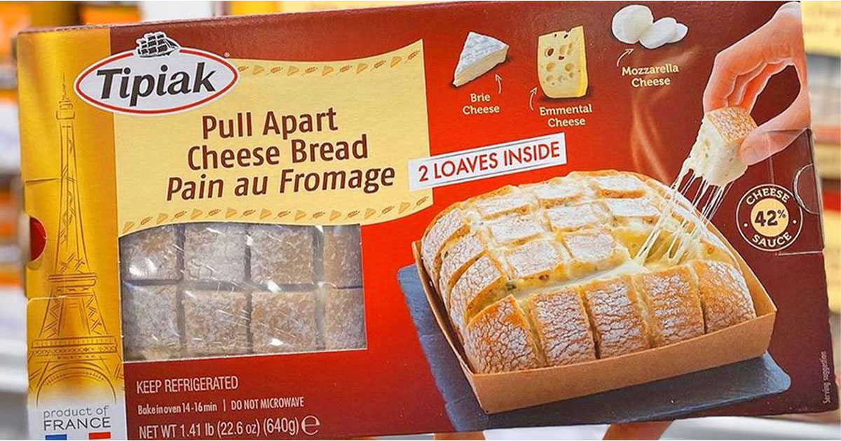 You Can Now Enjoy Pull-Apart Cheese Bread That