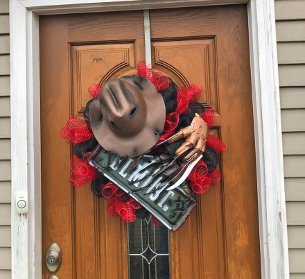 You Can Now Get a Freddy Krueger Wreath To Put On Your Door For Halloween