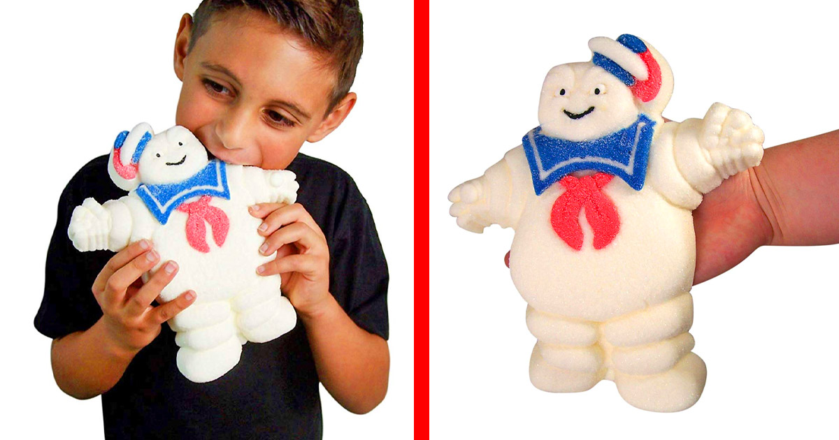 You Can Now Get a Fully Edible Ghostbusters Stay Puft Marshmallow Man