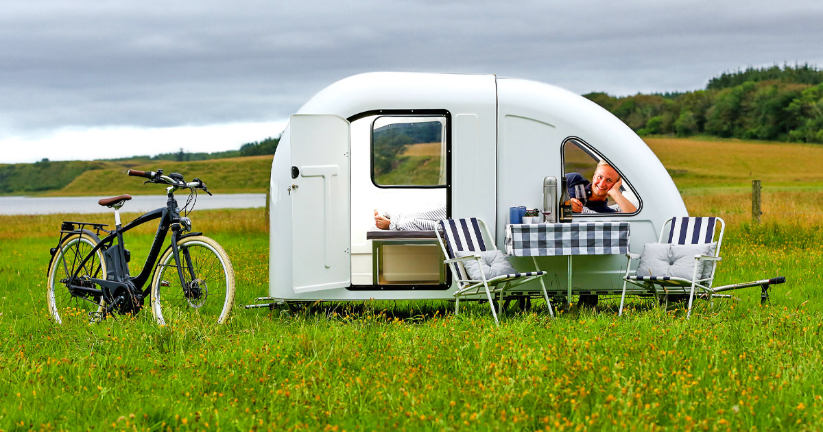 You Can Now Get a Mini Camper Trailer That