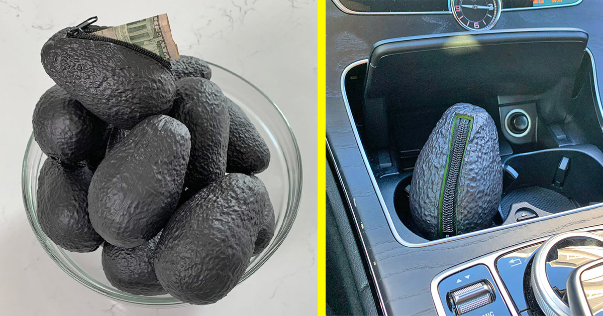 You Can Now Get a Super Realistic Avocado Purse For Storing Cash, Snacks, etc