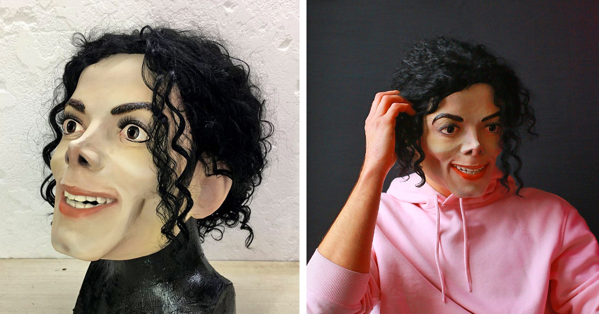 You Can Now Get a Super Realistic Michael Jackson Mask That Lets You Become The King Of Pop