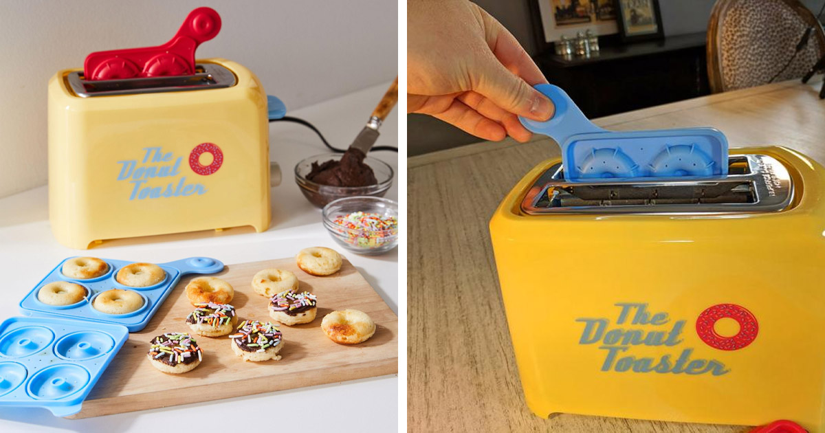 You Can Now Get a Toaster That Makes Mini Donuts