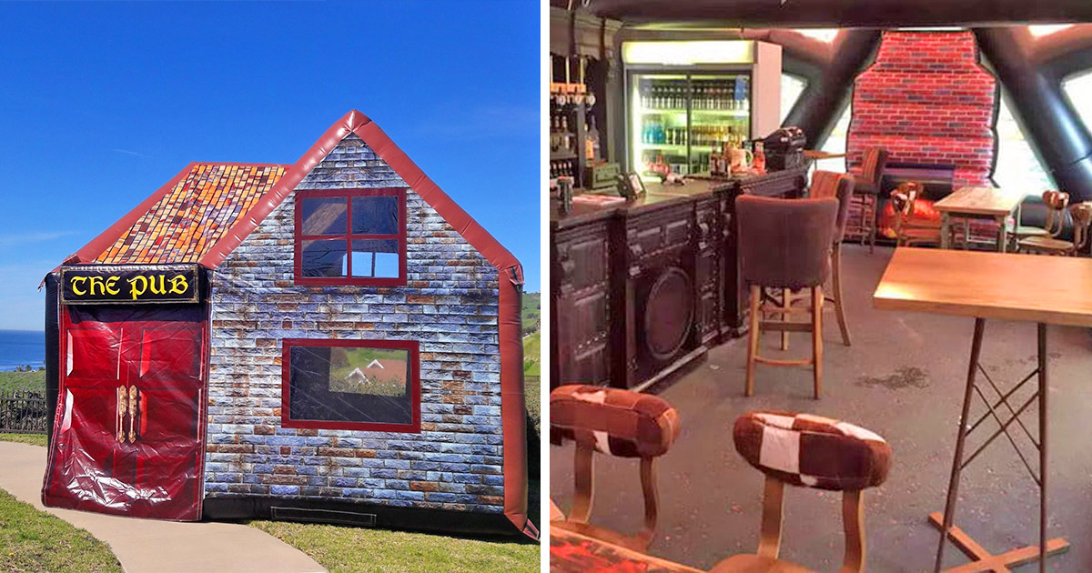You Can Now Get an Inflatable Pub For Your Backyard
