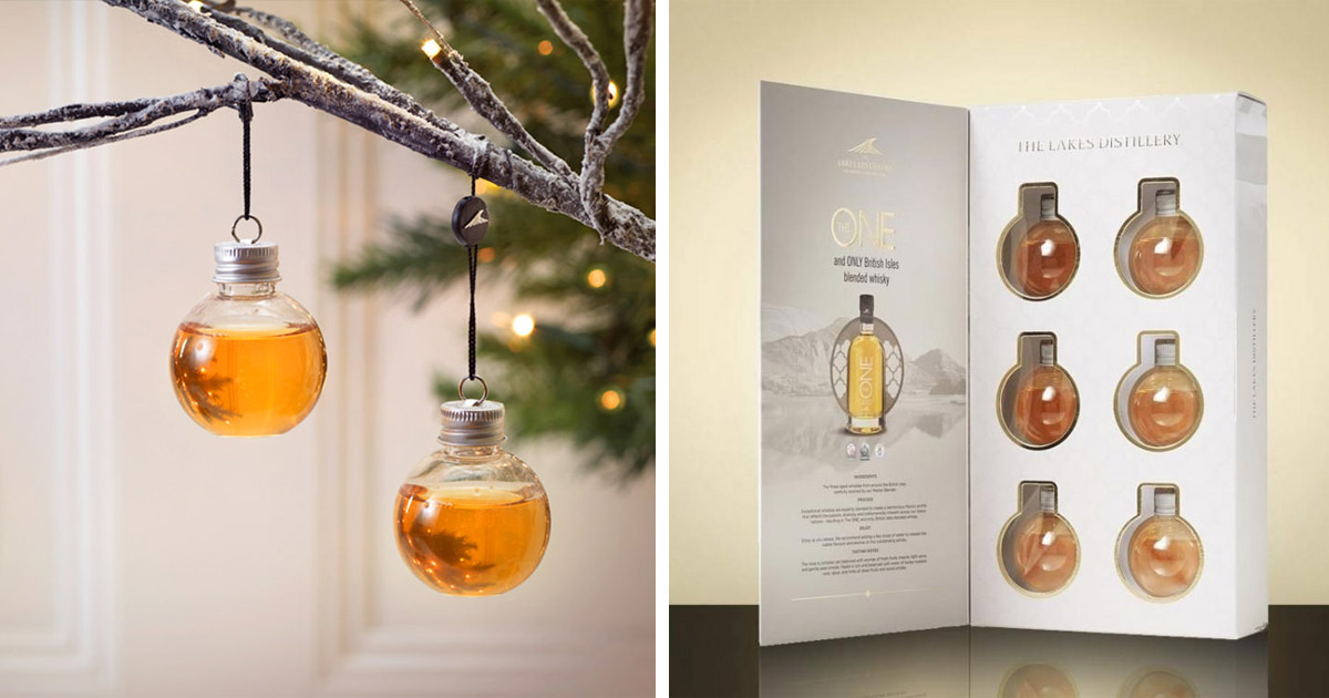 You Can Now Get Booze Filled Christmas Tree Ornaments To Make The Holidays Extra Special