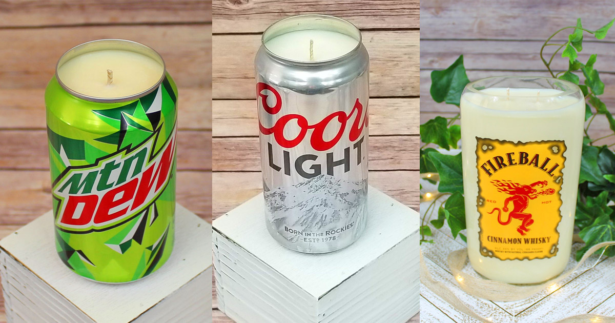 You Can Now Get Candles That Smell Like Coors Light, Mountain Dew, Fireball, and More